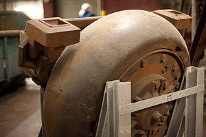 Pulverizer - Image: Coal Mill Reuter West 2