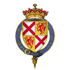 Coat of Arms of Sir John Tiptoft, 1st Earl of Worcester, KG.png