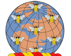 Symbols of Manchester - The bees represented in Manchester's official heraldic arms