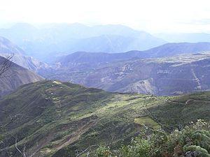 Cocabamba District - The beautiful landscape of Cocabamba.