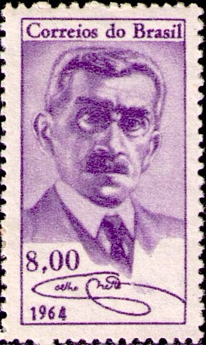 Coelho Neto - Coelho Neto on a 1964 stamp