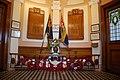 Cofeb Ryfel yn Neuadd Goffa Cricieth - War Memorial in Criccieth Memorial Hall - geograph.org.uk - 506999.jpg