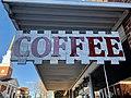 Coffee Sign, Mars Hill, NC (31739967917).jpg