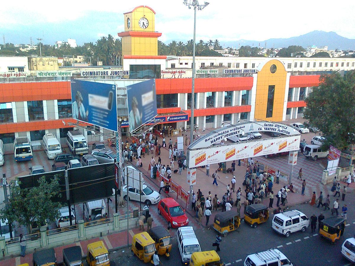 Coimbatore Junction railway station - Wikipedia