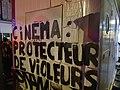 Collage lors de la manifestation féministe de nuit du 7 mars 2020 de Paris.jpg