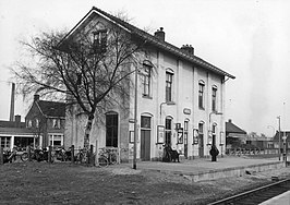 Station Wehl in februari 1966.