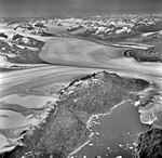 Columbia Glacier, Billys Hole, Valley Glacier and Calving Distributary Terminus, August 25, 1969 (GLACIERS 1034).jpg