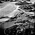 Columbia Glacier, Calving Terminus, Heather Island, September 12, 1986 (GLACIERS 1390).jpg