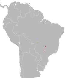 Columbina cyanopis distribution map.png