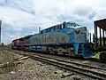 Comboio parado no pátio da Estação Ferroviária de Salto - Variante Boa Vista-Guaianã km 210 - panoramio.jpg