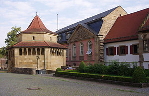 Comburg - Image: Comburg Sechseckkapelle quer
