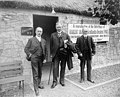 Committee members in front of the Burns Cottage at the Lewis and Clark Exposition, Portland, Oregon, 1905 (AL+CA 1939).jpg