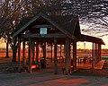 Community Pavilion at Sunset (5443606356).jpg