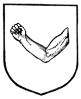 Fig. 264.—An arm embowed fesseways.