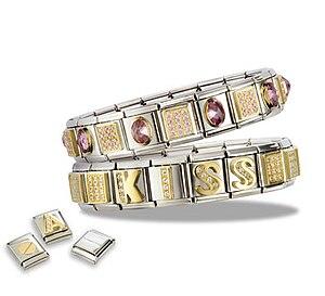 English: Composable Bracelets