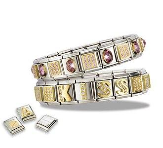 Italian charm bracelet - Modular design