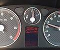 Compteur kilométrique odomètre à 222 222 km (Peugeot 407, France).jpg