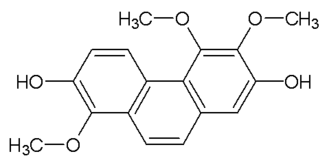 Confusarin - Chemical structure of confusarin