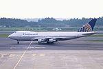 Continental Airlines Boeing 747-143 (N17010-19729-36) (25439673513).jpg