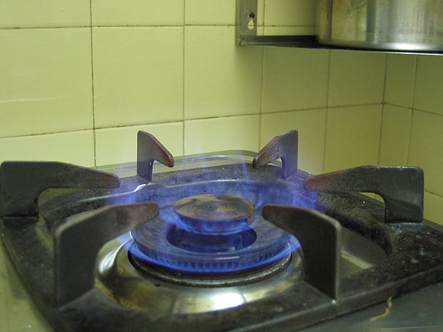 Horiaci zemný plyn