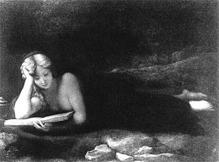 Mary Magdalene reading