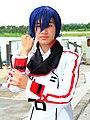 Cosplayer of Ichika Orimura, Infinite Stratos 20121208.jpg