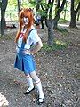 Cosplayers of Asuka Langley Soryu 20131013 1.jpg