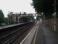 Coulsdon South stn look north.JPG