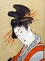 Courtisane par Hokusai (musée d'art oriental, Venise) (15428754171).jpg