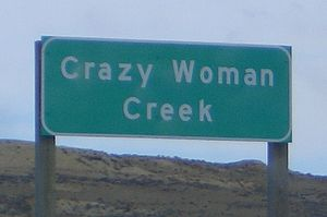 Crazy Woman Creek - Image: Crazy Woman Creek