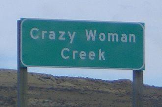 Crazy Woman Creek - Image: Crazy Woman Creek