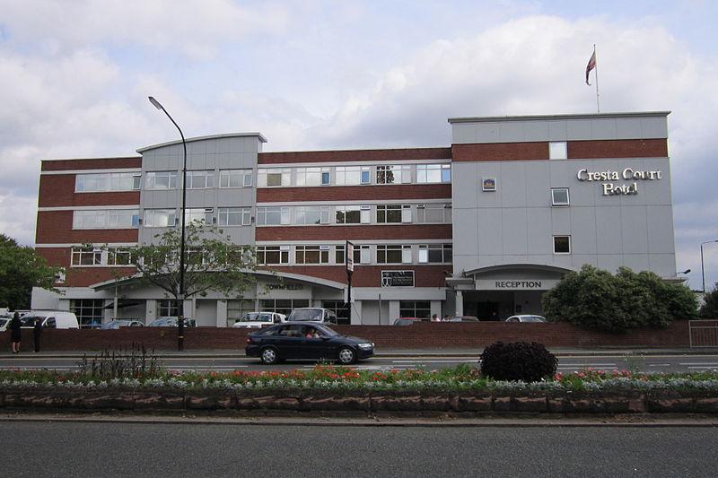 Cresta Court Hotel Altrincham Telephone Number