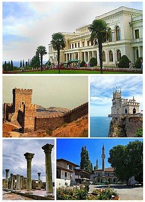 Autonomous Republic of Crimea - Collage of Crimean culture