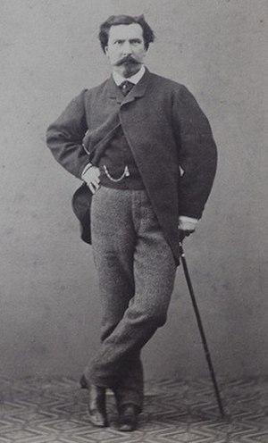 Cristiano Banti - Cristiano Banti (c.1860) Photograph by Fratelli Alinari