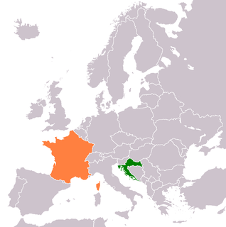 Croatia–France relations