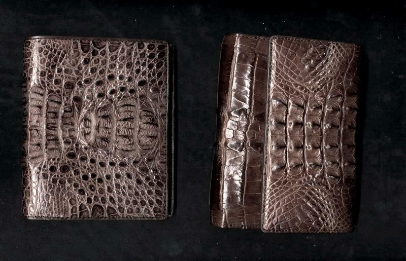 Crocodile wallets