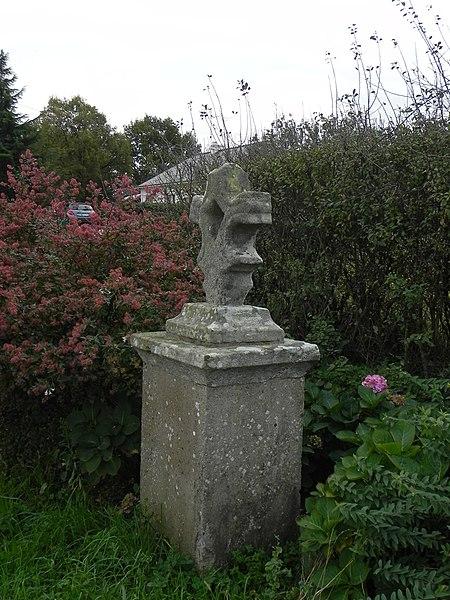 Croix de la Ville au Jau, Saint-André-des-Eaux, Loire-Atlantique, France.