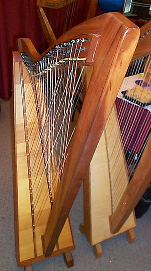 Cross-strung harp - Cross-strung harp