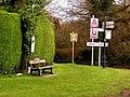 Crossroads at Gwern-y-Steeple - geograph.org.uk - 362149.jpg