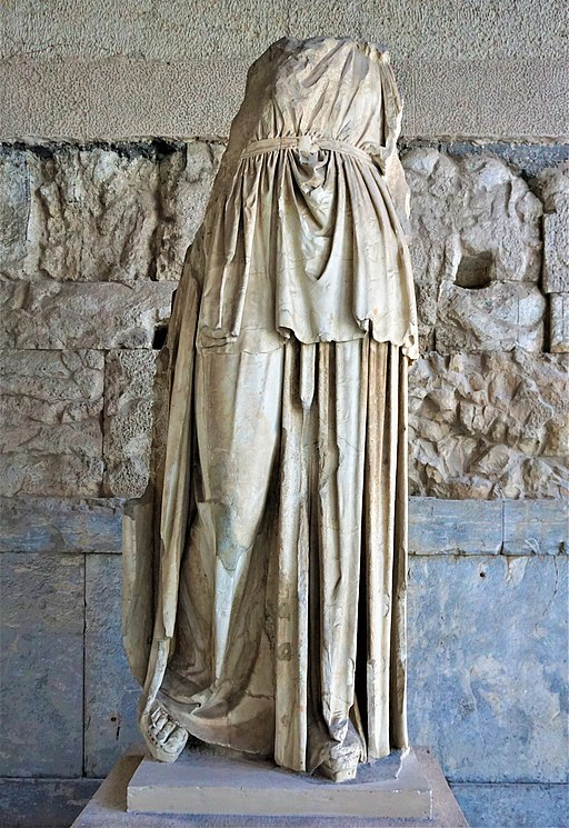 Cult Statue from the Temple of Apollo Patroos - Museum of the Ancient Agora - Joy of Museum