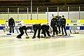 Curling damer Skellefteå CK Team AllTele vs Karlstads CK Team Ahlmarks 2013-01-27 02.jpg