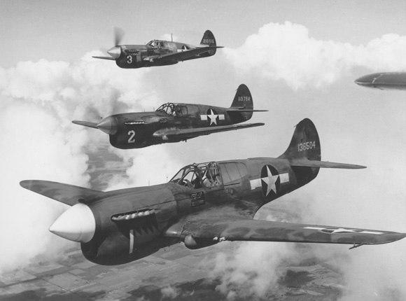 Curtiss P-40 Warhawk USAF