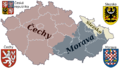 Czech Rep . - Bohemia, Moravia and Silesia V.png