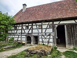D-BW-Neuhausen ob Eck - Freilichtmuseum - Weber- und Kleinbauernhaus Dautmergen.jpg