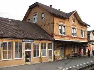 Kißlegg–Hergatz railway railway line