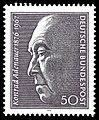 DBP 100. Geburtstag Konrad Adenauer 50 Pfennig 1976.jpg