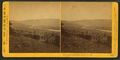 Dalles City, Columbia River, from Sun Set Hill, by Watkins, Carleton E., 1829-1916.png