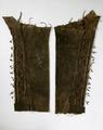 Damask till indiandräkt, möjligen Lenni Lenape (Delaware) - Livrustkammaren - 16432.tif