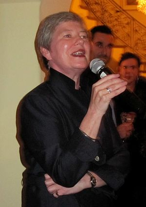 Barbara Hay - Dame Barbara hosting a party in Los Angeles in 2009