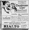 Dangerous Lies 1921 newspaper advertisement.jpg